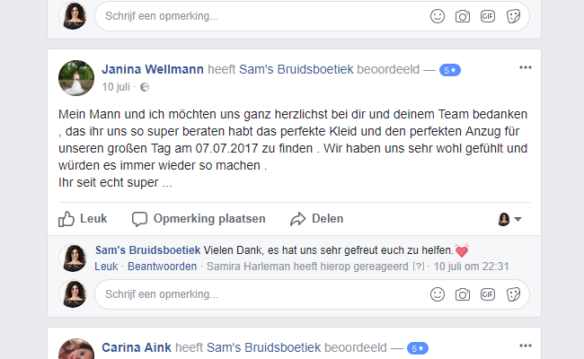 Sam's Brautmode Rheine