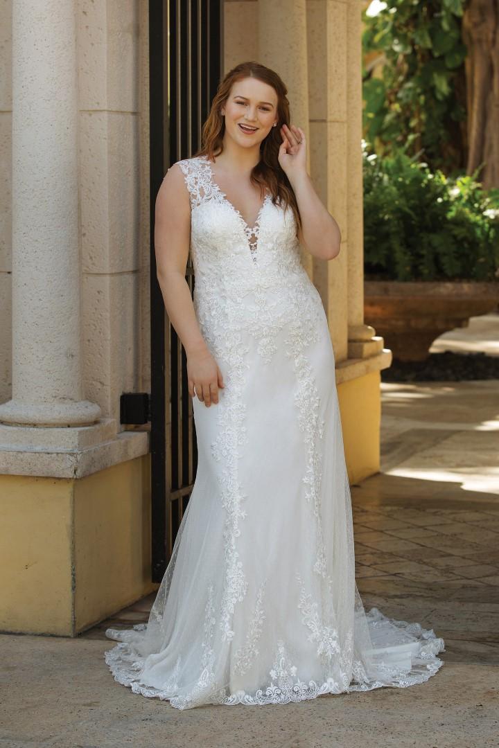 Plus Size Brautmoden